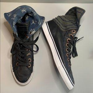 True Religion men's hi top sneakers size 12